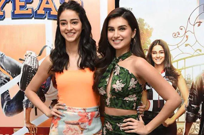 Ananya Panday tries to copy Tara Sutaria - Tellychakkar thumbnail