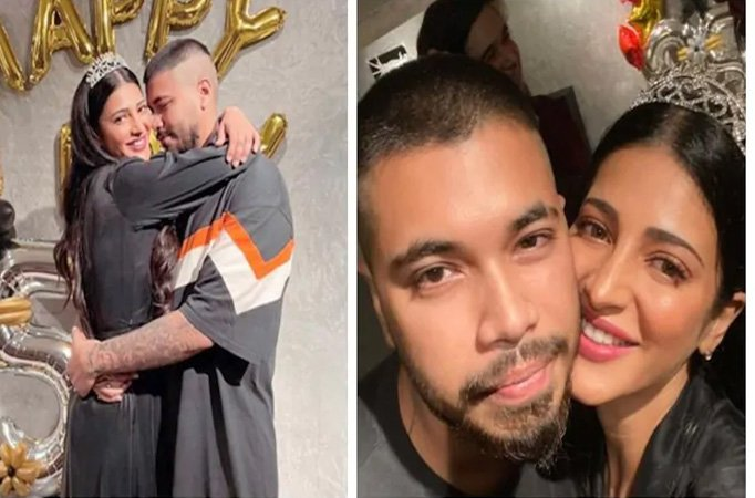 Shruti Hassan open up on her relationship with Santanu Hazarika thumbnail