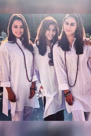 Ekta Kapoor, Krystle D'souza, Anita Hassanandani