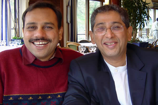Vipul Shah and Sanjiv Sharma
