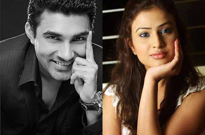 Mazher Sayed and Shalini Chandran in an episodic of Savdhan India