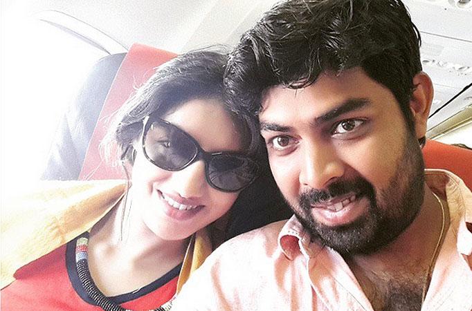 Lovebirds Deepika and Rohit celebrate first marriage ...  Lovebirds Deepi...