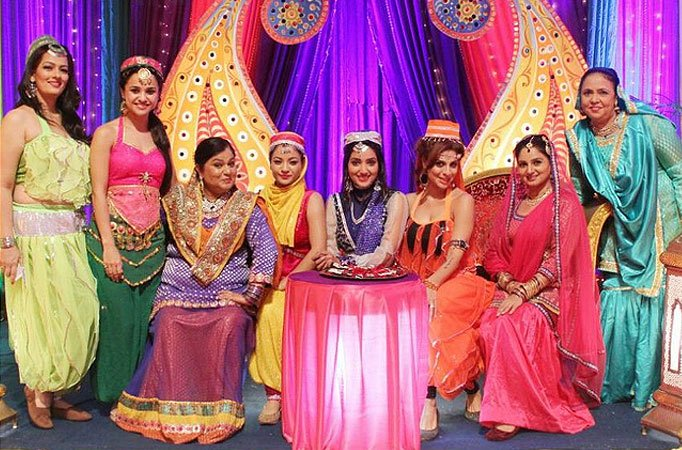'Arabian Nights' theme party in SAB TV's Badi Dooooor Se