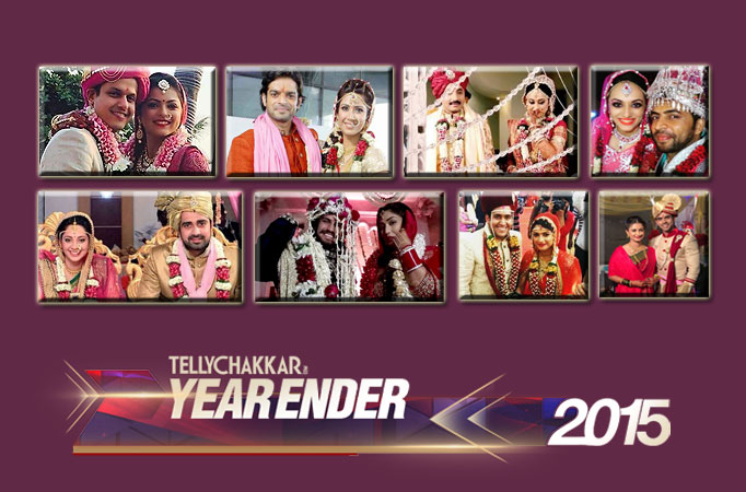 TV stars who tied the knot in 2015