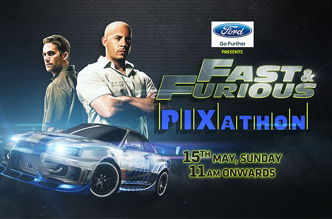 Fast and Furious PIXathon on Sony Pix