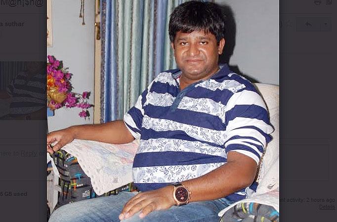 writer Manoj Santoshi