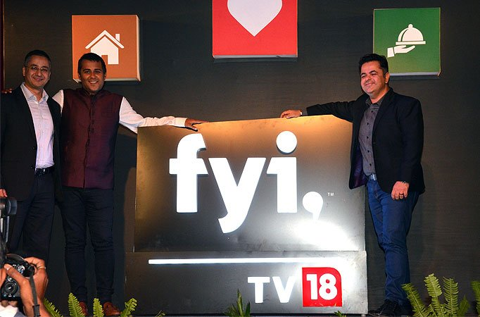 FYI TV18 unveils big-ticket local productions with Chetan Bhagat & Vicky Ratnani as hosts