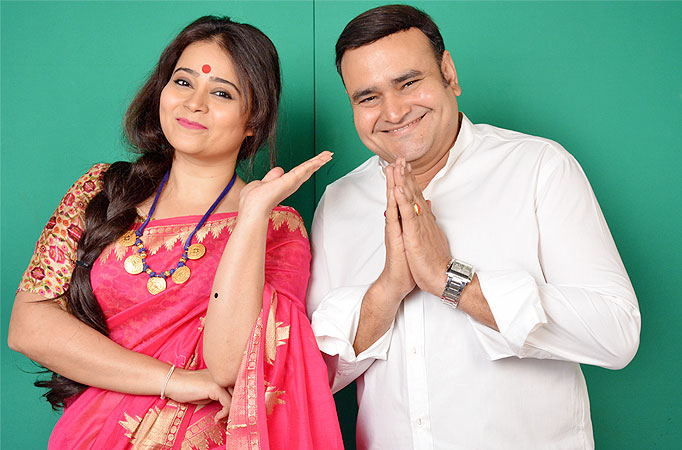 Satish Sharma and Pranauti Pradhan