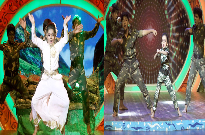 'Indian Army' special episode in Dance Bangla Dance Junior