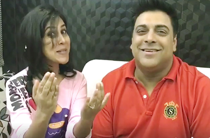 Ram and Sakshi share a cute video