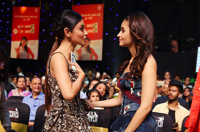 Mouni Roy and Alia Bhatt