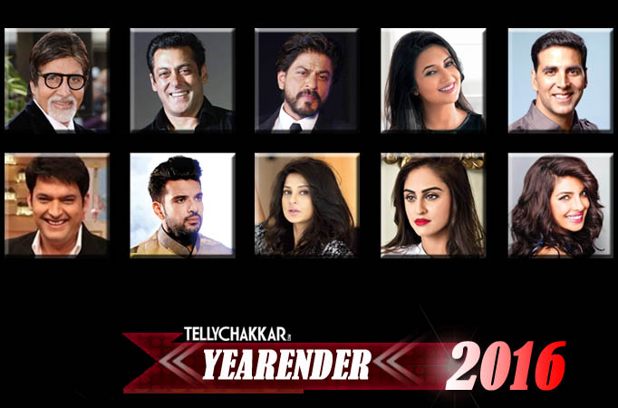 YearEnder - Top social media accounts of TV and B-Town stars in 2016
