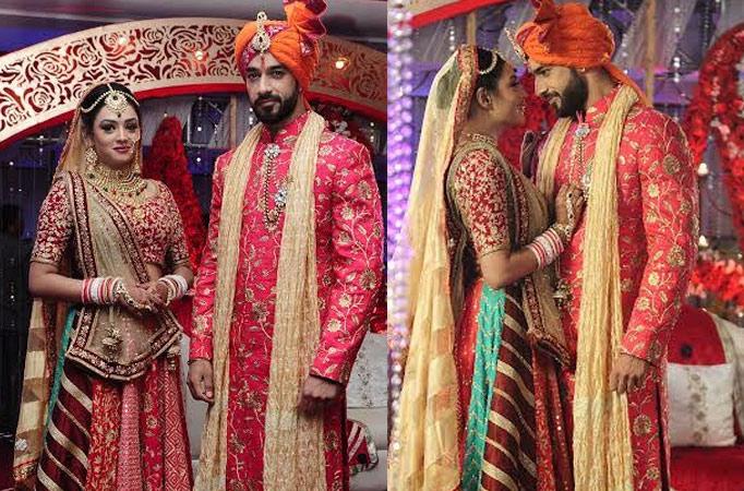 Karan and Samiksha talk about their on-screen wedding in ...