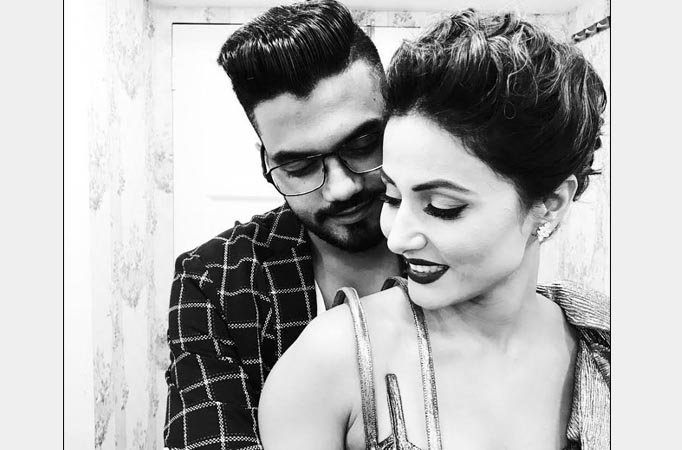 I probably love Hina more that I used to, before Bigg Boss 11, says BF Rocky Jaiswal