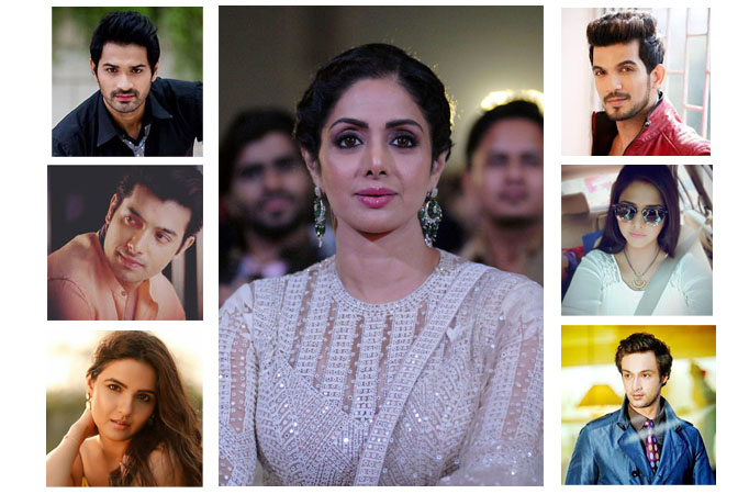 TV stars offer condolences on Sridevi's sudden demise