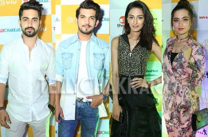 When the actors 'dressed to kill' at TellyChakkar's 13th B'Day bash