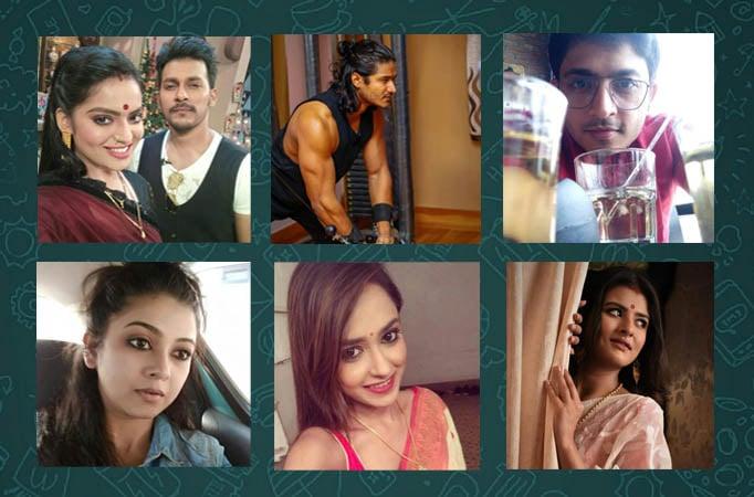 WhatsApp DPs of Bengali TV actors