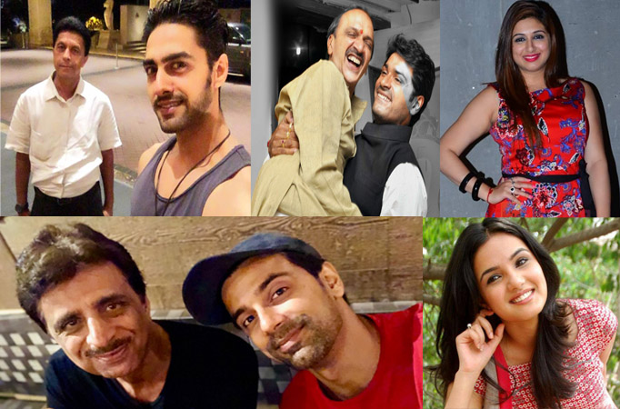 TV celebs wish a happy father's day