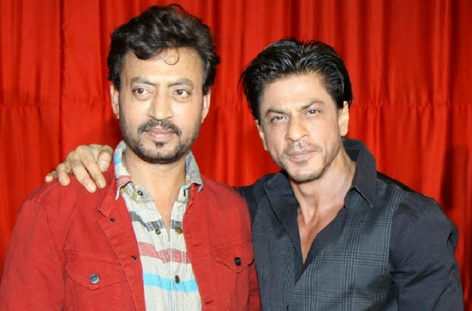 Shah Rukh Khan and Irrfan Khan