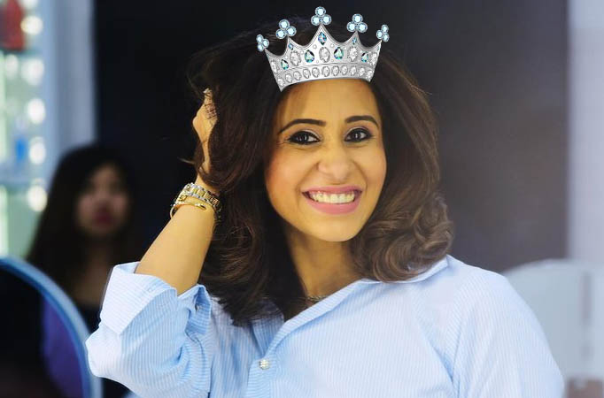 Congratulations: Kishwer Merchant is INSTA Queen of the Week!