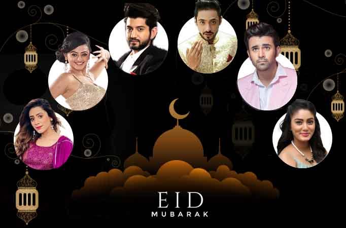 Eid Special: TV Celebrities shower Eid wishes...