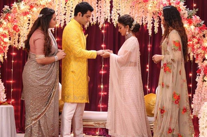 Alia gets Alok and Tara engaged on Sony SAB's Tera Kya Hoga Alia - Tellychakkar