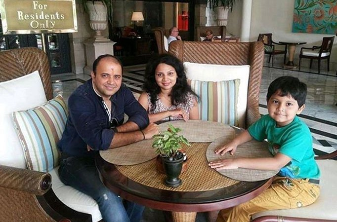 Meet Taarak Mehta's Bhide aka Mandar's REAL WIFE and SON