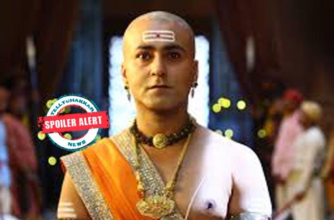 Tenali Rama: Bhaskar enters with Rama to raj puja