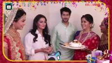 Birthday boy Namish Taneja unwraps gifts