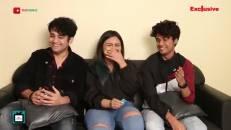 Tik Tok stars Ansh, Ashika and Rahul enjoy Gossip time with TellyChakkar