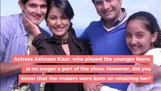 Ashnoor Kaur's loss is Shivangi Joshi's gain