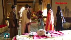 Avneet-Siddharth special moments from the sets of Aladdin