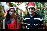 Jingle bells, jingle bells...with Karan Tacker and Krystle D'souza