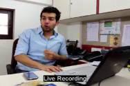Candid  moments with Jay Bhanushali