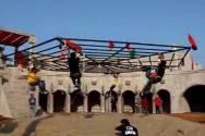 Lights camera stunts