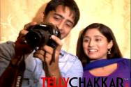 Getting candid on the sets of Navya