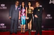 Boney Kapoor, Sridevi and daughter Janvi with Amar Singh