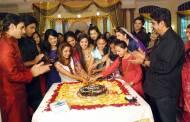 Women's day cake cutting on the sets of Aur Pyaar Ho Gaya