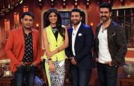 Kapil Sharma,Shilpa Shetty,Raj Kundra And Harman Baweja