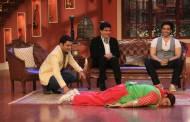 Kapil Sharma, Jeetendra, Tusshar Kapoor and Kiku Sharda