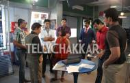 On the set: Sony TV's CID