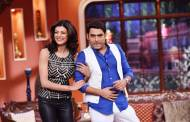 Gorgeous Sushmita Sen on the sets of Comedy Nights with Kapil