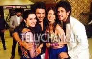 Diksha Rampal and Shaleen Malhotra with Kishwer Merchantt and Suyash Kumar