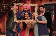 Sonam and Fawad on the sets of Comedy Nights With Kapil