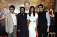 Ajit Andhare, Viacom 18 CEO, filmmaker Sanjay Leela Bhansali, actor Priyanka Chopra