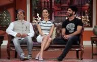 Vishal Bhardwaj, Shraddha Kapoor, Shahid Kapoor on the sets of Comedy Nights With Kapil