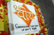 Cake cutting: Veera completes two years