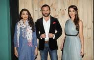 L-R Sonali Bendre, Saif Ali Khan and Eleana Dcruz