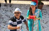 Dilip Joshi and Disha Vakani