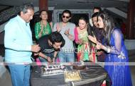 Aly Goni's birthday celebration on the sets of 'Yeh Hai Mohabbatein'